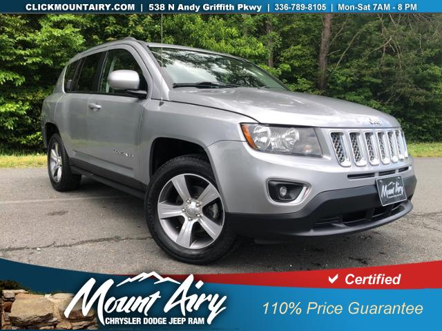 Certified Pre-Owned 2017 Jeep Compass High Altitude 4x4 *Ltd Avail*