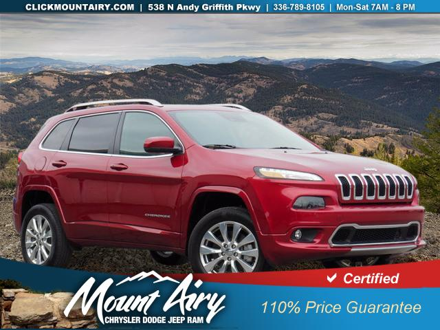 Certified Pre-Owned 2016 Jeep Cherokee 4WD 4dr Overland