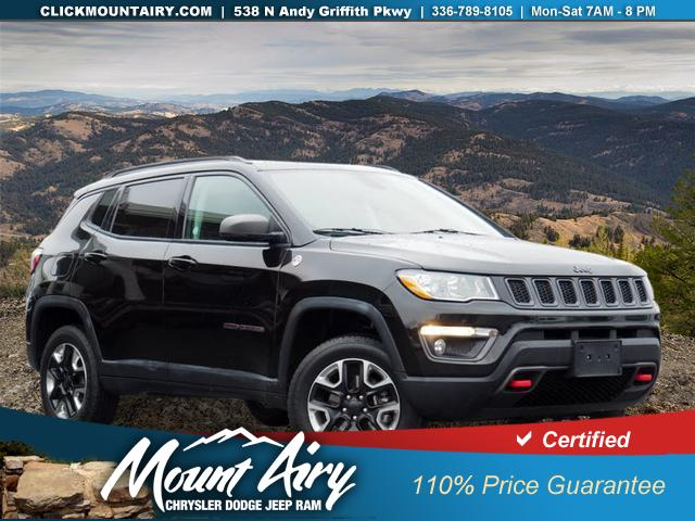 Certified Pre-Owned 2018 Jeep Compass Trailhawk 4x4
