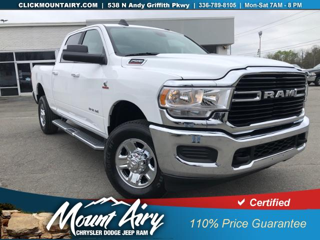 Certified Pre-Owned 2019 Ram 2500 Big Horn 4x4 Crew Cab 6'4 Box