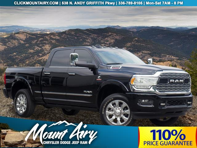 New 2019 RAM 2500 Limited 4x4 Crew Cab 6'4 Box