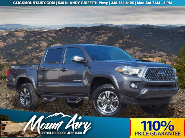 Pre-Owned 2018 Toyota Tacoma TRD Sport Double Cab 5' Bed V6 4x4