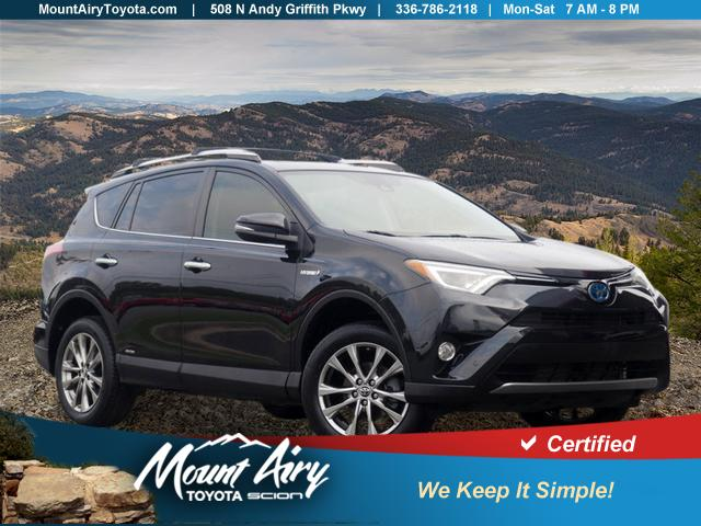 Pre-Owned 2016 Toyota RAV4 Hybrid AWD 4dr Limited