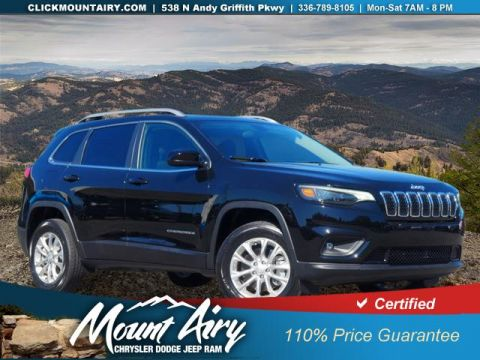 Certified Pre-Owned 2019 Jeep Cherokee Latitude 4x4
