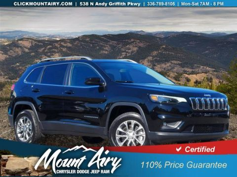 Certified Pre-Owned 2019 Jeep Cherokee Latitude Plus 4x4