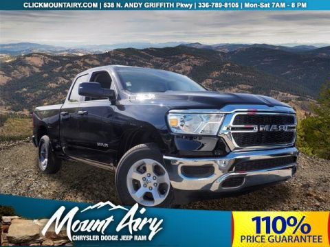 New 2019 RAM All-New 1500 Tradesman 4x4 Quad Cab 6'4 Box