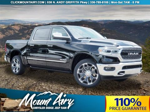 New 2019 RAM All-New 1500 Limited 4x4 Crew Cab 5'7 Box