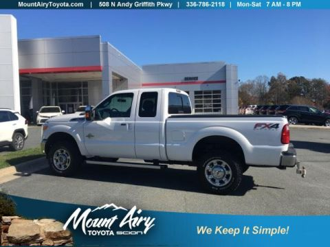 Pre-Owned 2012 Ford Super Duty F-350 SRW 4WD SuperCab 142 Lariat