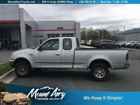 Pre-Owned 1997 Ford F-150 Supercab 157 4WD XLT