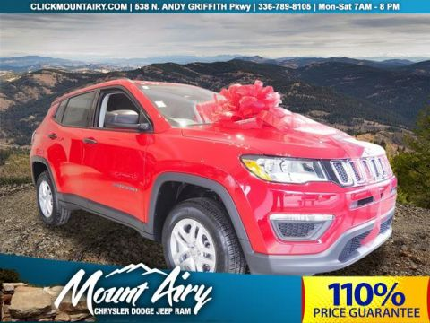 NEW 2018 JEEP COMPASS SPORT 4X4