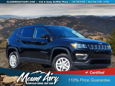 Certified Pre-Owned 2018 Jeep Compass Sport 4x4