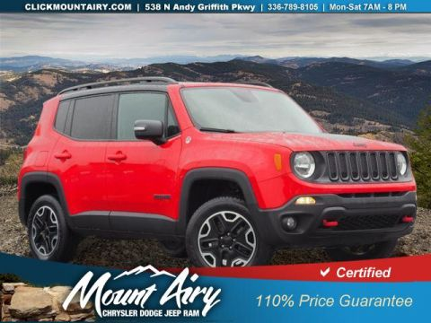 Certified Pre-Owned 2017 Jeep Renegade Trailhawk 4x4